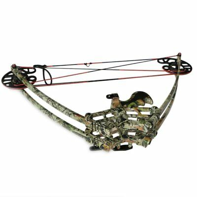 "40-50LBS Archery Triangle Compound Bow 27"" Right Hand Hunting Shooting"