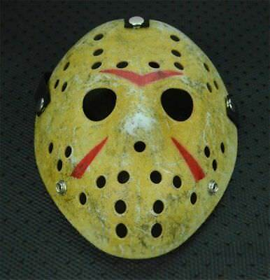 Halloween Mask Old Jason Voorhees Friday The 13th Horror Movie Hockey Mask Cos