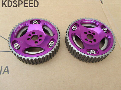 Adjustable cam gears pulley for Nissan Skyline R32 R33 R34 RB20 RB25 RB26 2PCS