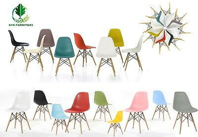 14 Colours MOF Inspired Eiffel Retro  plastic Dining office Dining chair