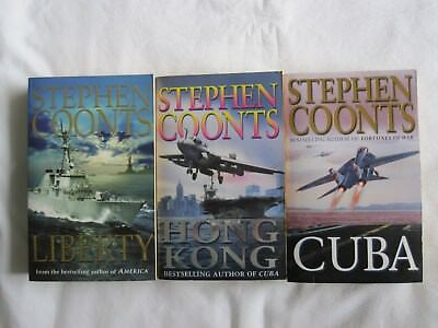 3 X Stephen Coonts Books