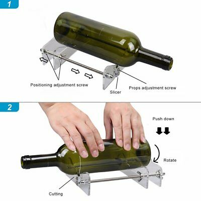 Professional Long Glass Bottles Cutter Machine Cutting Tool For Wine Bottle lc