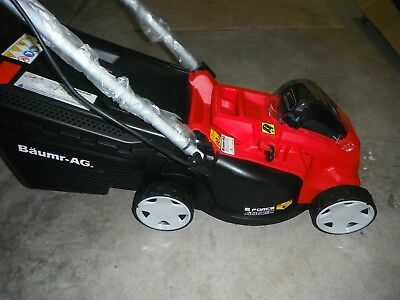 Brand new,40volt electric,battery,cordless mower/catcher,E-Force 400 EC,&Charger