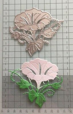 Morning Glory Flower Metal Cutting Die Suitable for Most Die Cutting machines