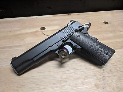 MODEL 1911 REAL Carbon Fiber Pistol Grips From Twill Weave
