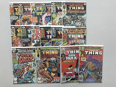 Lot of 16 Marvel Two-in-One (1974 1st Series) From #39-91 FN-VF Very Fine