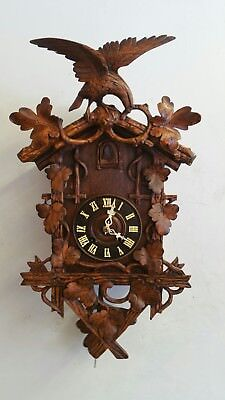 Antique Black forest  cuckoo clock 1800s