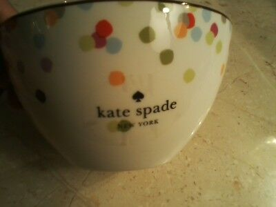 KATE SPADE NYC Market Street Collection Soup/Cereal Bowls By Lenox MSRP $24 EA