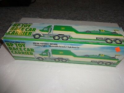 Bp 1993 Limited Edition Toy Race Car Carrier