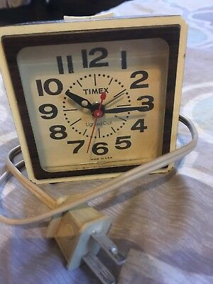 VINTAGE TIMEX ELECTRIC Alarm Clock