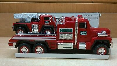 USED HESS Fire Truck And Ladder Rescue 2015