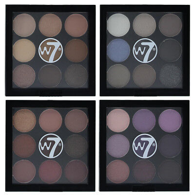 W7 The Naughty Nine Shades of Eye Colour Eyeshadow Palette