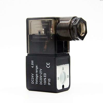 Precise DC24V-2/3/4 Solenoid Coil Plug Lead Type