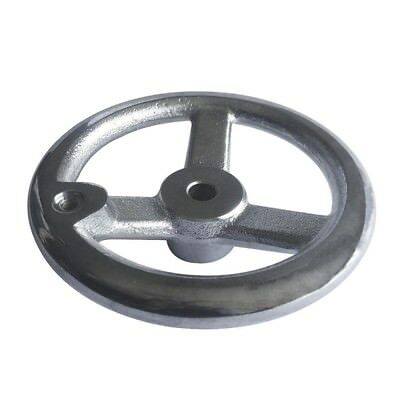 "HY Three Spoked Cast Iron Offset Handwheel without Handle 5"" Diameterxshycn_HYA2"