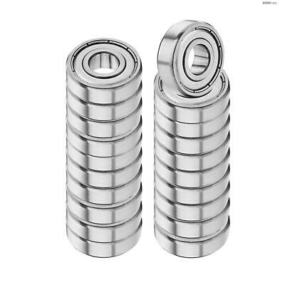 HLGS Deep Groove Ball Bearing 6000-ZZ Single Row Double Shielded 20 Pcshotex2017