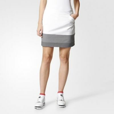 Adidas Ultimate adistar Colour Block Skort Rocke Damen weiß