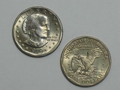 1979-P Susan B Anthony Dollar - Uncirculated SBA - Philadelphia Mint