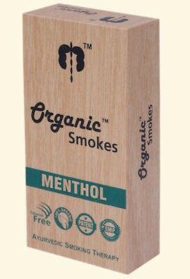 Organic smoke herbal cigarettes 10 sticks (menthol)