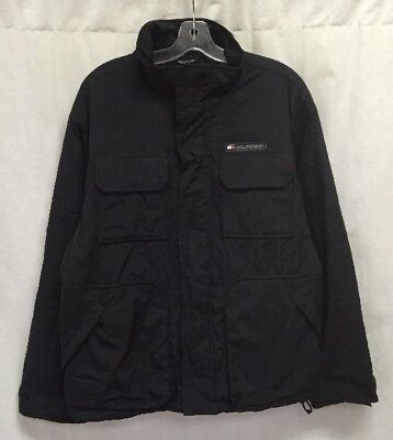 725330f3e53432 Vintage Tommy Hilfiger Fleece Lined Insulated Jacket Size M Outdoor Gear