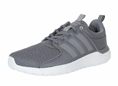 new concept 5e72b 4a186 adidas Neo Cloudfoam Lite Racer Mens UK 7 EU 40 23 Onix Grey Trainers