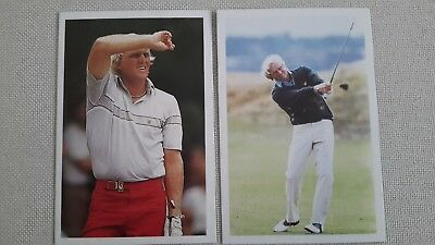 Greg Norman Question of Sport 2 Cards Golf