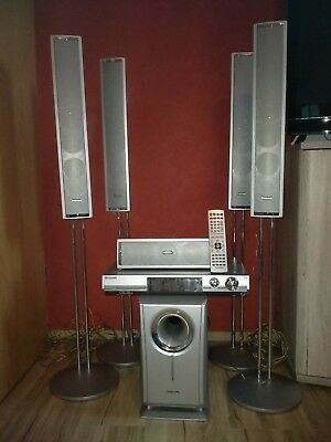 Panasonic Audio Dolby Surround System 5.1 SA-HT07 & Sub Woofer  AN SELBSTABHOLER