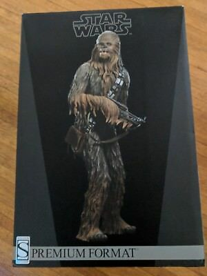 Chewbacca Star Wars Sideshow Premium 1/4 Scale Figure. Excellent Condition.