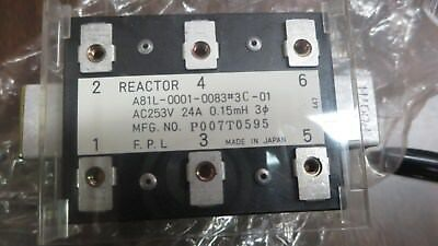 LOT OF (2) NIB GE FANUC Reactors A81L-0001-0083#3 C-01