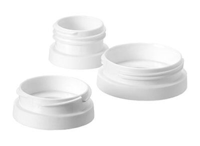 Tommee Tippee Express and Go Breast Pump Adaptors x 3