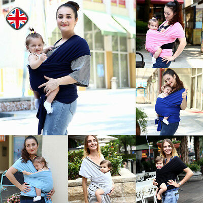 Baby Wrap Sling Summer Breathable Silky Soft Extra Light Adjustable Carrier