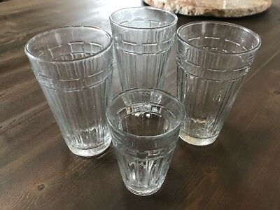 Set Of 3 Tall Longaberger 17 oz Tumblers  Woven Traditions Glasses, & one 8 oz