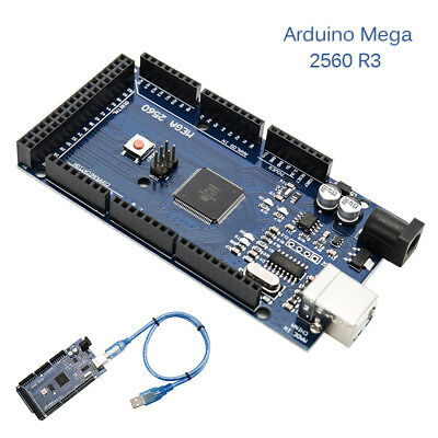Mega 2560 R3 ATMega2560-16AU 16U2 Compatible Board with USB Cable For Arduino