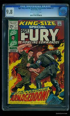 Sgt. Fury Annual #7 CGC NM/M 9.8 Tongie Farm Collection