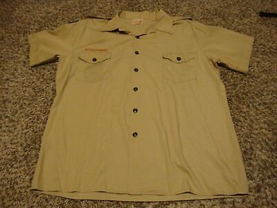 Boy Scouts of America, Official Uniform Shirt, Adult XL, Short Sleeve