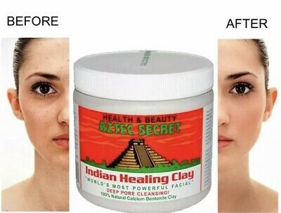 💙 Aztec Indian Healing Calcium Bentonite Clay FaceMask Natural 1lb 100% Genuine