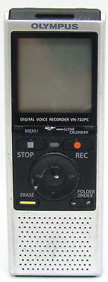 OLYMPUS 4 GB Handheld Digital Voice Recorder VN-722PC working