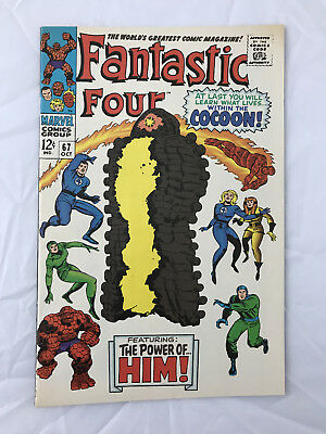 Fantastic Four #67 Rare 2nd Print 1st appearance of Him Warlock 1994 Vintage Pk