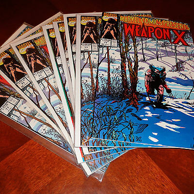 Marvel Comics Presents Wolverine Weapon X #77 VF/NM (Multiple Copies Available)
