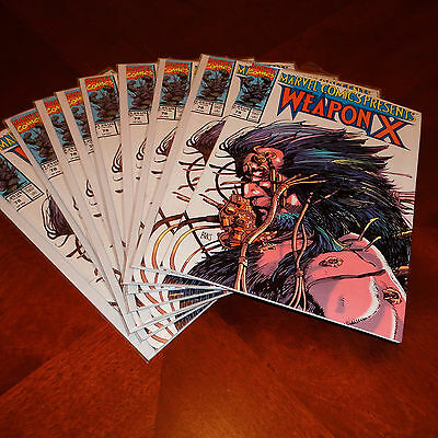Marvel Comics Presents Wolverine Weapon X #78 VF/NM (Multiple Copies Available)
