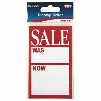 QuikStik A7 Sale Display Tickets Was/Now 10 Pack