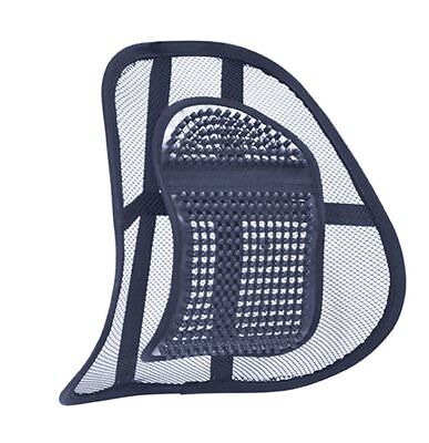 Lumbar Lower Back Chair Support Mesh Cushion Pain Relief Seat Posture Corrector