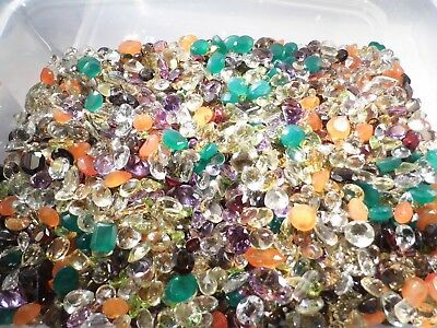 10.00Ct of Natural Faceted Gems MIxed Sizes and Shapes Buy 1 or many!!