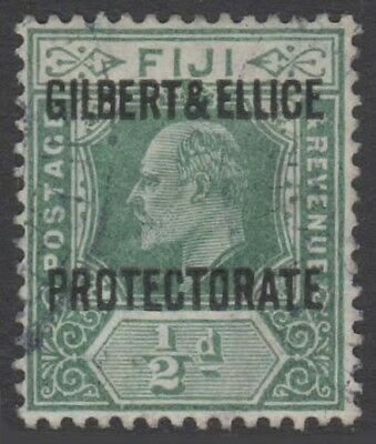 GILBERT AND ELLICE KEVII 1911 Issue 1/2d Scott 1  SG1  Used cv £50