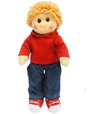 Hopscotch Collectibles - 35Cm Rag Doll Elliot - Brand New With Tags