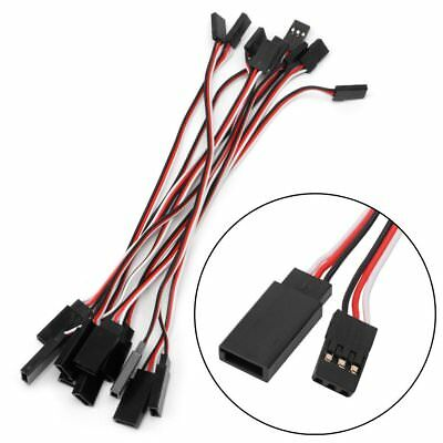 100pcs 150mm Lead Servo Extension Wire Cable Cord For Futaba JR Male To Female