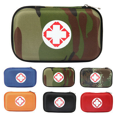 Outdoor Home Empty First Aid Survival Medical Bag Pouch Emergency Case Ornate