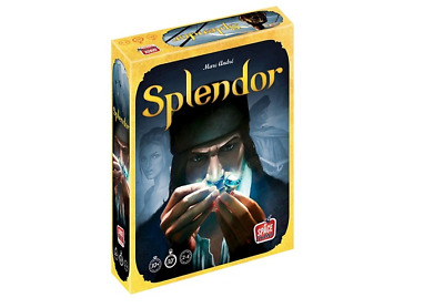 Splendor Board Game Fast Elegant Intuitive Compete Business World Party Friends