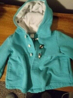 carters size 5T girls teal peacoat jacket