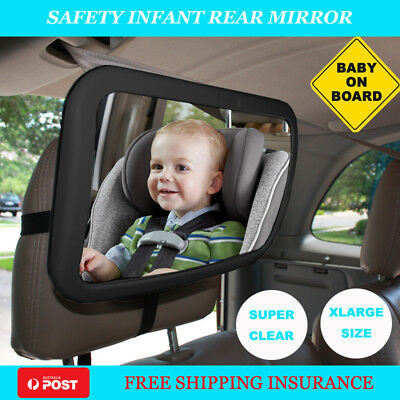 Car Baby Seat Mirror View Back Safety Rear Ward Facing Child Baby Mirror