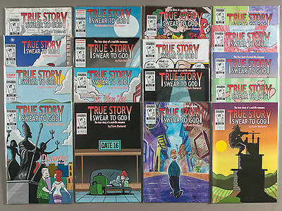 True Story Swear to God #1-17, Full Run (Vol. 1),Lot of 17 comics, compl. VF set